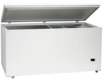 Морозильный ларь Бирюса Б-560VK белый