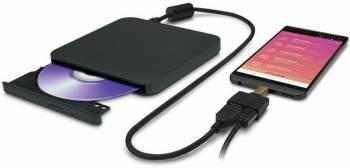 Оптический привод LG GP95 черный SATA slim (GP95NB70)