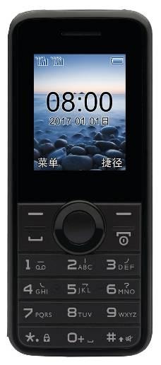 Мобильный телефон Philips E106 черный (867000143211) - фото 1