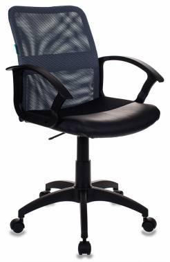 Кресло Бюрократ CH-590 серый/черный (CH-590/DG/BLACK)