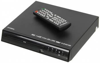 Плеер DVD Hyundai H-DVD100 черный