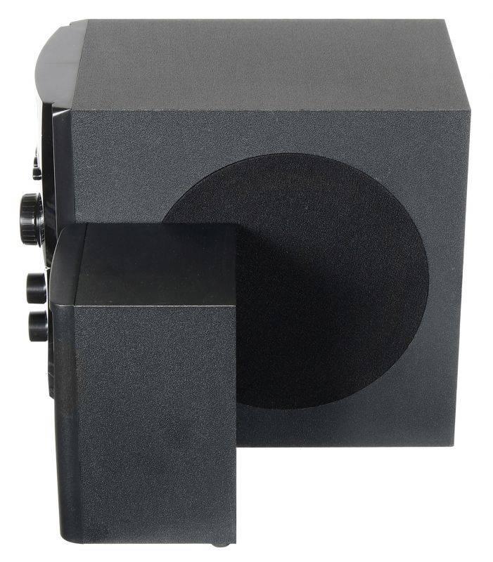 Микросистема Hyundai H-HA220 черный - фото 3