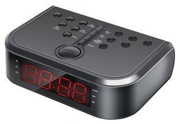 Радиобудильник Hyundai H-RCL120 черный