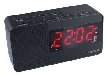 Радиобудильник Hyundai H-RCL200 черный