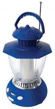 Кемпинговый фонарь Радиоприемник Hyundai H-RLC120 синий