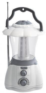Кемпинговый фонарь Радиоприемник Hyundai H-RLC130 белый/серый