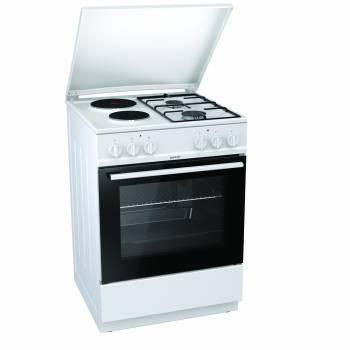 Плита комбинированная Gorenje K6121WG белый