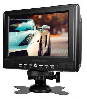 Портативный телевизор 7 Digma DCL-700 черный