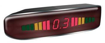 Парковочный радар Digma DCK-120 черный
