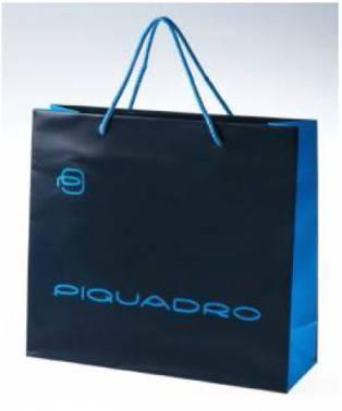 Пакет Piquadro SHOPPER-NEW-2/00 30x27x10 бумажный SMALL