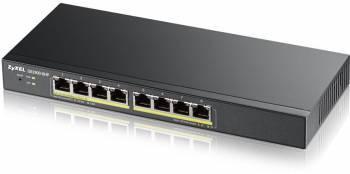 Коммутатор Zyxel GS1900-8HP GS1900-8HP-EU0102F управляемый, 8x10/100/1000BASE-T