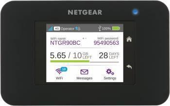 Точка доступа NetGear AC790-100EUS черный