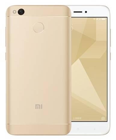 Смартфон Xiaomi Redmi 4X 32ГБ золотистый - фото 1