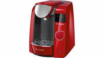 Кофемашина Bosch Tassimo TAS4503 красный / черный