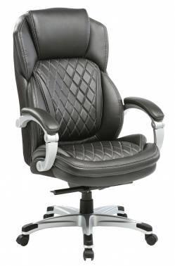 Кресло руководителя Бюрократ T-9915 черный (T-9915/BLACK)
