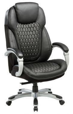Кресло руководителя Бюрократ T-9917 черный (t-9917/black)