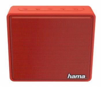 Колонка портативная Hama Pocket красный (00173122)