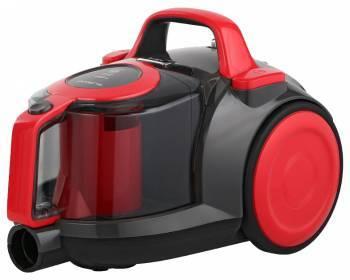 Пылесос Polaris PVC 1823 красный/серый, мощность 1800Вт, уборка: сухая, объем пылесборника 2.5л, мощность всасывания 380Вт, регулировка мощности на корпусе, длина шнура 5м