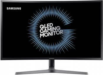 Монитор 31.5 Samsung C32HG70QQI темно-серый