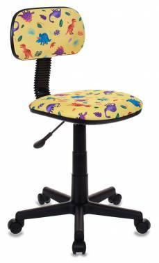 Кресло детское Бюрократ CH-201NX / DINO-Y желтый