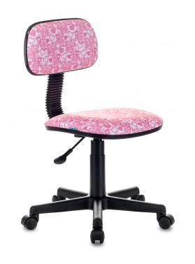 Кресло детское Бюрократ CH-201NX розовый (CH-201NX/HEARTS-PK)