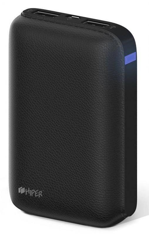 Мобильный аккумулятор HIPER SP7500 черный (SP7500 BLACK) - фото 1