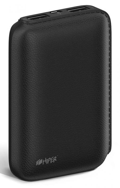 Мобильный аккумулятор HIPER SP7500 черный (SP7500 BLACK) - фото 3