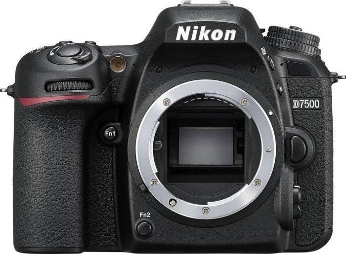 Фотоаппарат Nikon D7500 черный, Body (VBA510AE) - фото 1