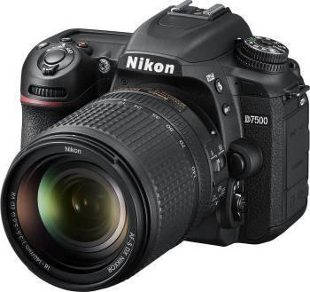 Фотоаппарат Nikon D7500 черный, 1 объектив 18-140mm f / 3.5-5.6G VR