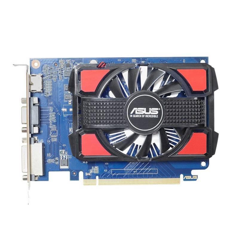 Видеокарта Asus GeForce GT 730 2048 МБ (GT730-2GD3-V2) - фото 1