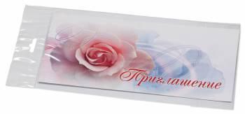 Конверт Приглашение 4011408 C65 114x229мм силиконовая лента 120г / м2 Лабиринт (pack:1pcs)