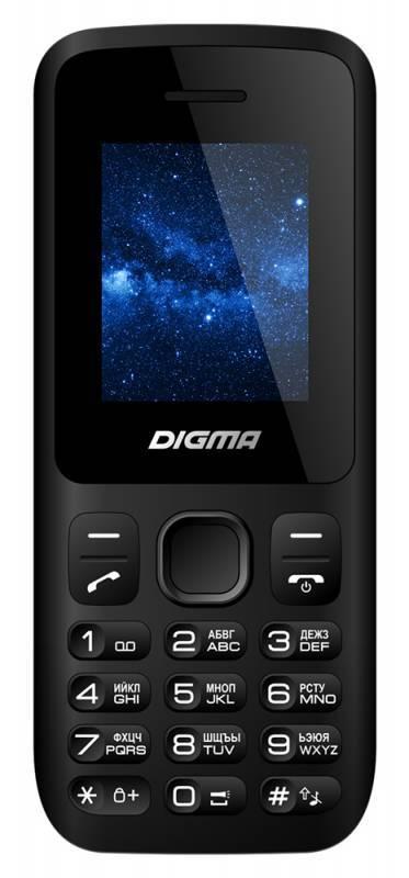 Мобильный телефон Digma A101 2G Linx черный - фото 1