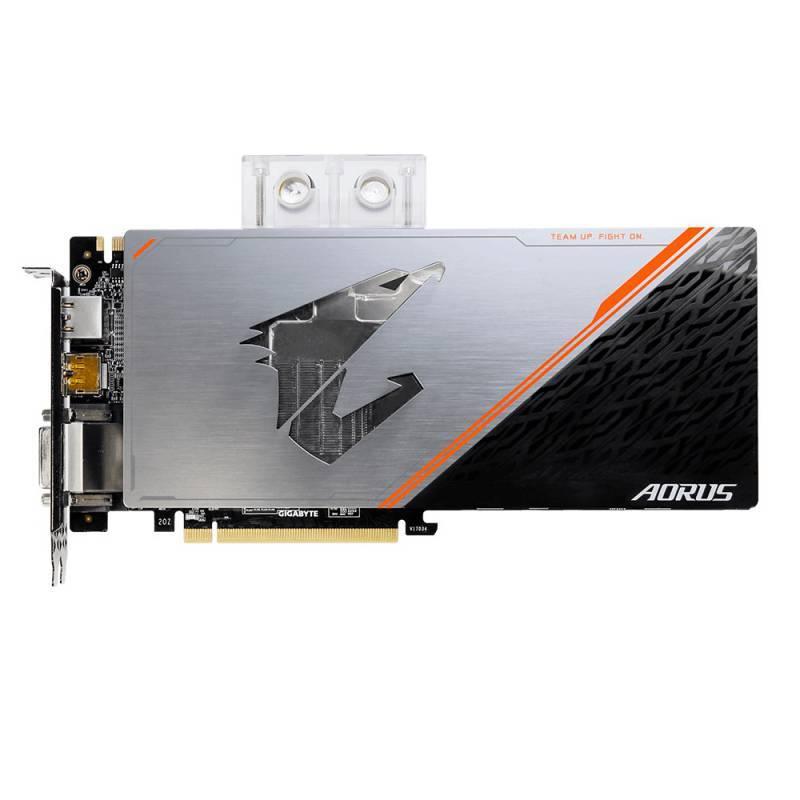 Видеокарта Gigabyte GeForce GTX 1080 Ti AORUS X WB-11GD 11264 МБ (GV-N108TAORUS X WB-11GD) - фото 2