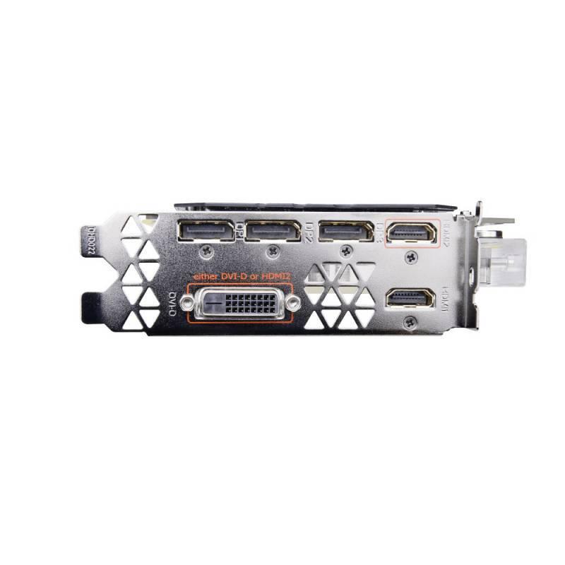 Видеокарта Gigabyte GeForce GTX 1080 Ti AORUS X WB-11GD 11264 МБ (GV-N108TAORUS X WB-11GD) - фото 6