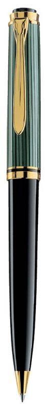 Ручка шариковая Pelikan Souveraen K 800 черный/зеленый (PL996991) - фото 1