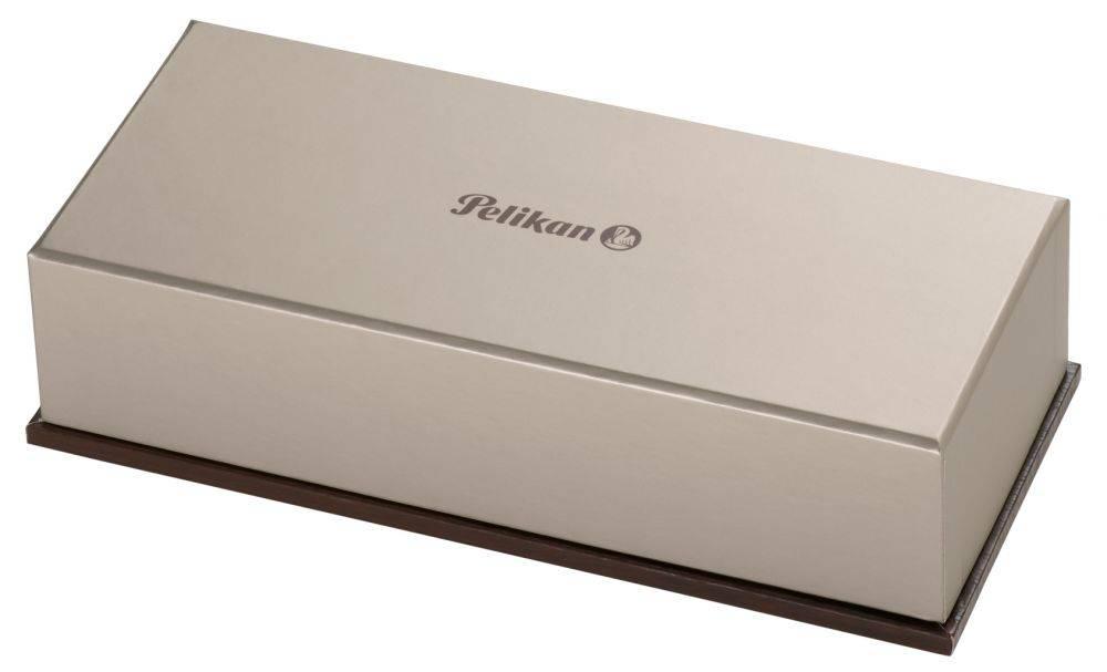 Ручка шариковая Pelikan Souveraen K 400 (996835) черный/зеленый - фото 2