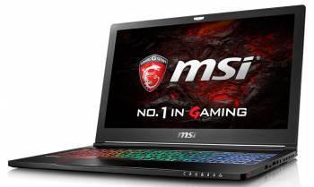 Ноутбук 15.6 MSI GS63VR 7RF(Stealth Pro)-496RU черный