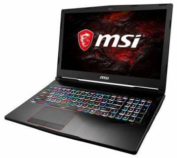 Ноутбук 15.6 MSI GE63VR 7RF(Raider)-058RU черный