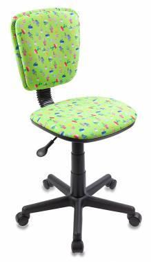 Кресло детское Бюрократ CH-204NX зеленый (CH-204NX/CACTUS-GN)