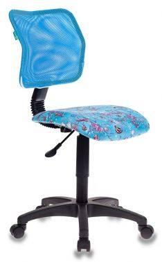 Кресло детское Бюрократ CH-295 / LB / AQUA голубой