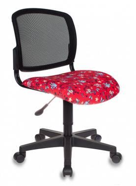 Кресло детское Бюрократ CH-296 / ANCHOR-RD красный