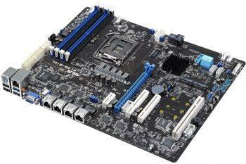 Серверная материнская плата Soc-1151 Asus P10S-E/4L ATX (90SB0520-M0UAY0)