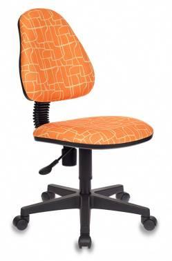 Кресло детское Бюрократ KD-4 оранжевый (KD-4/GIRAFFE)