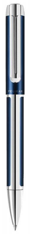 Ручка шариковая Pelikan Elegance Pura K40 синий/серебристый (954990) - фото 1