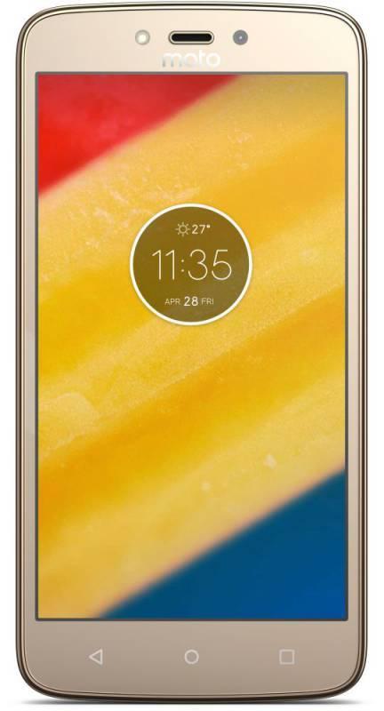 Смартфон Motorola C Plus XT1723 16ГБ золотистый (PA800003RU) - фото 2