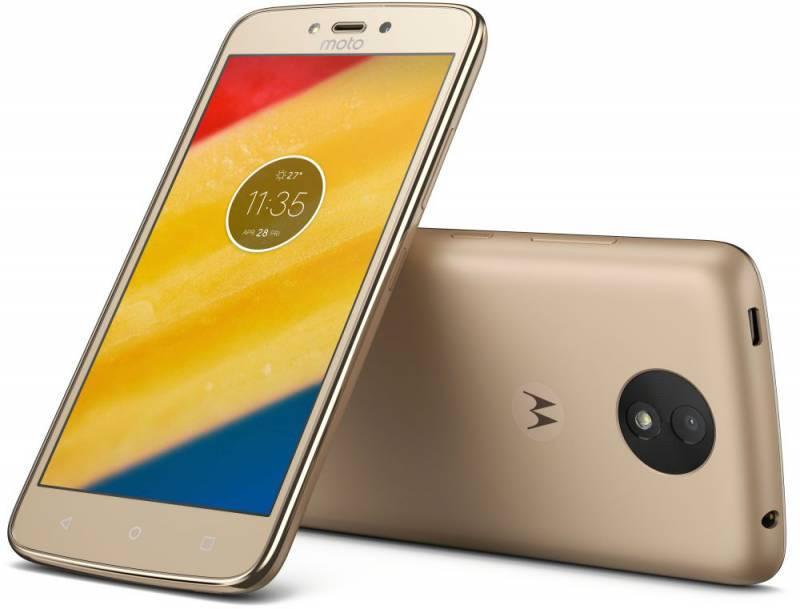 Смартфон Motorola C Plus XT1723 16ГБ золотистый (PA800003RU) - фото 4