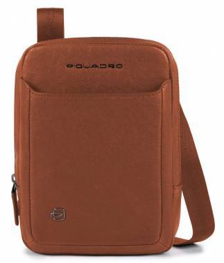 Сумка Piquadro Black Square CA3084B3 / CU светло-коричневый натур.кожа