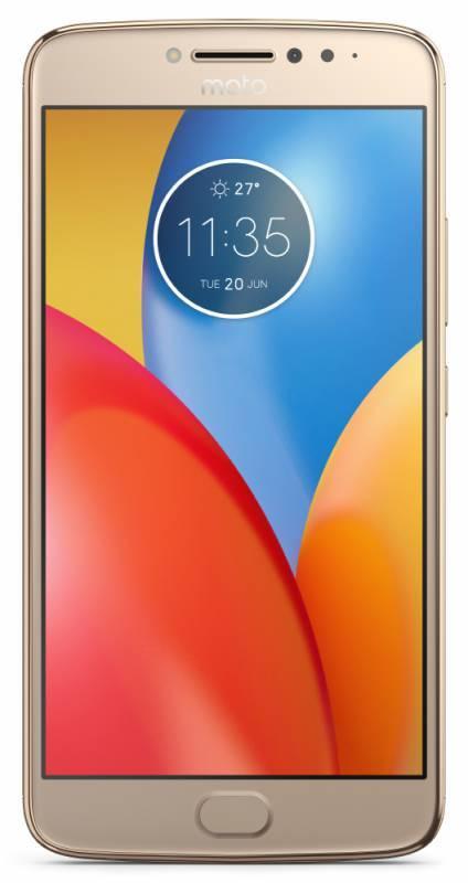Смартфон Motorola E4 Plus XT1771 16ГБ золотистый (PA700073RU) - фото 1