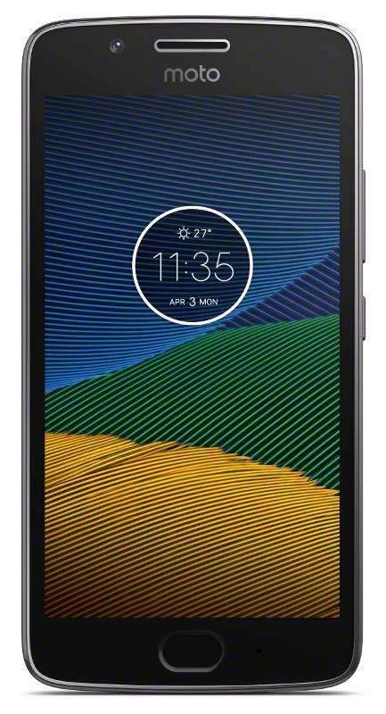 Смартфон Motorola E4 Plus XT1771 16ГБ серый (PA700074RU) - фото 1