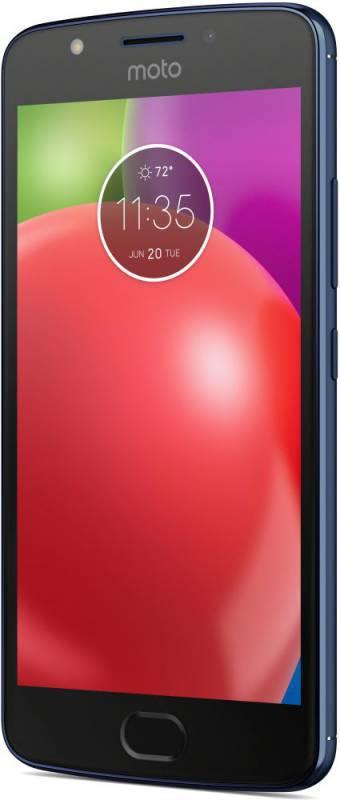 Смартфон Motorola E4 XT1762 16ГБ синий (PA750050RU) - фото 1